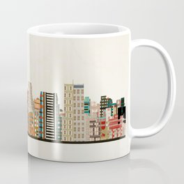 memphis skyline Coffee Mug
