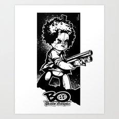 shotgun b/w Art Print