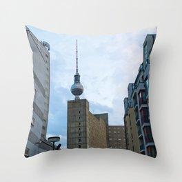 Fernsehturm Berlin - Back Throw Pillow