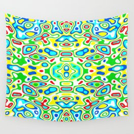Symmetric composition 12 Wall Tapestry