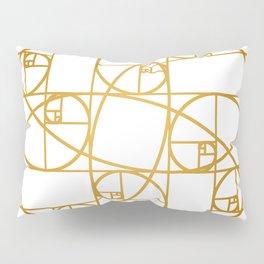 Golden Ropes Pillow Sham