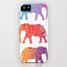 Elephantz iPhone Case