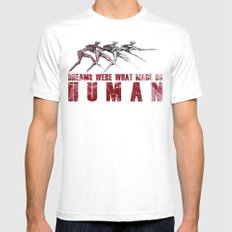 Dreams... Mens Fitted Tee White MEDIUM