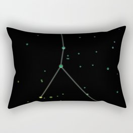 Cancer Constellation 'The Crab' Rectangular Pillow