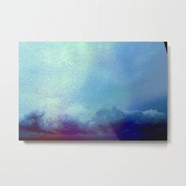 am feeling her painting that sky Metal Print