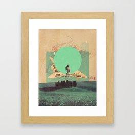 Hopes in Range Framed Art Print
