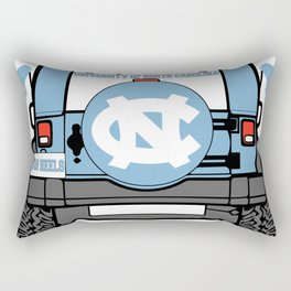 UNC Jeep Rectangular Pillow