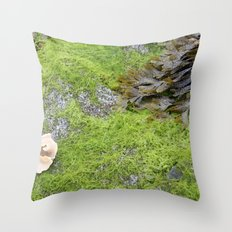 At the Surface Throw Pillow
