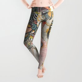 Mind-drawing Doodling Art Leggings