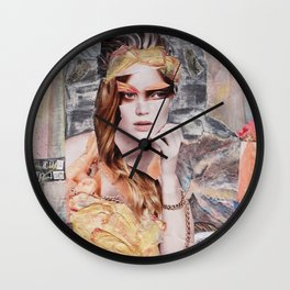 Out of time - deluxe Wall Clock