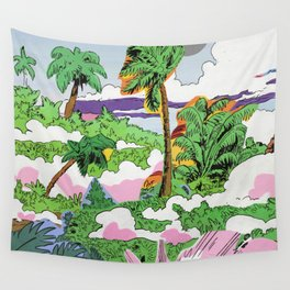 Smoke Jungle Wall Tapestry