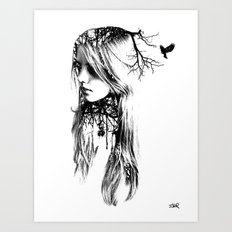ALL THINGS DEEPLY Art Print
