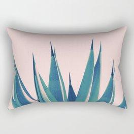 Blush Agave Dream #2 #tropical #decor #art #society6 Rectangular Pillow