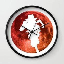 Anime Manga Ace Moon Shirt Wall Clock