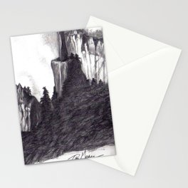 Black and White 5 Stationery Cards