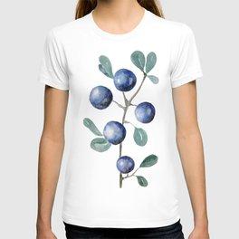 Blackthorn Blue Berries T-shirt
