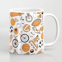 sports Mugs featuring SPORTS by Shoreside
