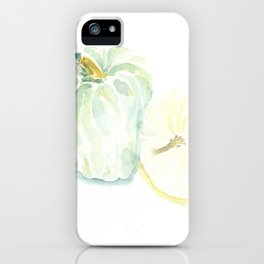 Watercolor Heirloom Pumpkins iPhone Case