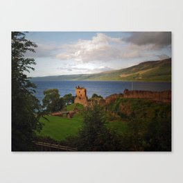 Urquhart Castle and Loch Ness Canvas Print
