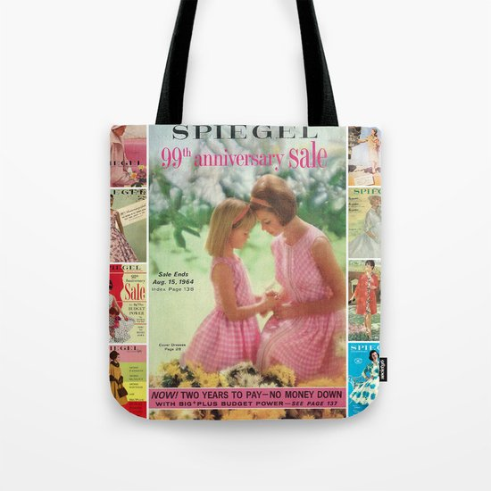1964 - 99th Anniversary Sale Catalog Cover Tote Bag
