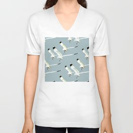 Seagull clones Unisex V-Neck