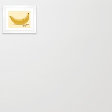 Crunches Framed Art Print