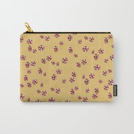 Peppermint Candy in Yellow Carry-All Pouch