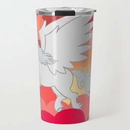 Alicorn at Sunset Travel Mug