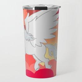Alicorn at Sunset Travel Mug