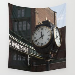 Clock Wall Tapestry