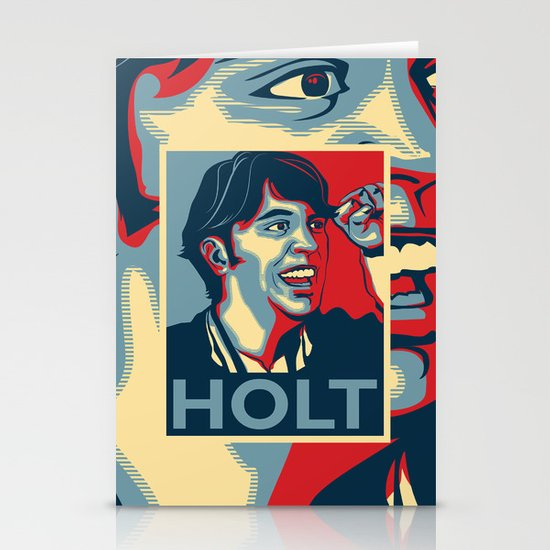 Steve Holt! Stationery Cards