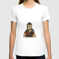 aang T-shirts featuring Wang Fire by light-in-sky