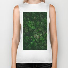 Fresh Greens (Color) Biker Tank