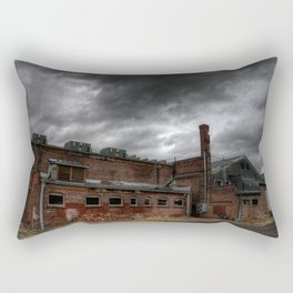 Behind the Old Theatre Rectangular Pillow