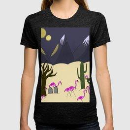 Flamingo Territory T-shirt