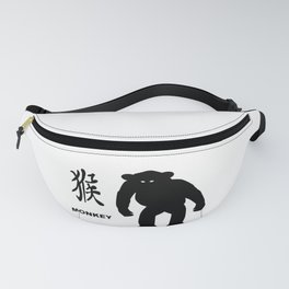 Chinese Year Of The Monkey Fanny Pack