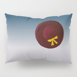 The Hat sitting all alone in space. digital Pillow Sham