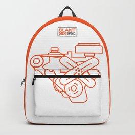 Minimalist Slant Six Engine Backpack