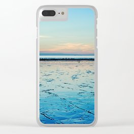 Sunset on the Horizon I Clear iPhone Case