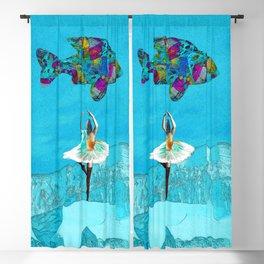 Fish Ballet Blackout Curtain