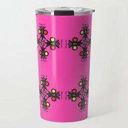 Cayni Desing Pink Travel Mug