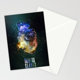 We're all slaves. Stationery Cards