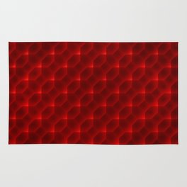 Red Pattern Rug