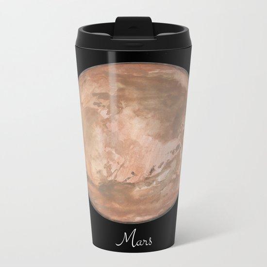 Mars #2 Metal Travel Mug