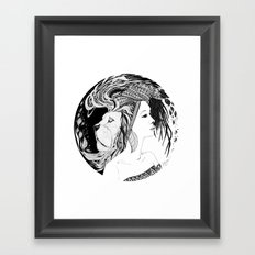 Instinct Framed Art Print