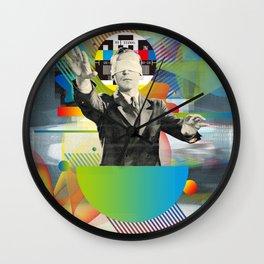Television Art N°2 Wall Clock