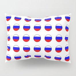 Flag of russia 4 -rus,ussr,Russian,Росси́я,Moscow,Saint Petersburg,Dostoyevsky,chess Pillow Sham