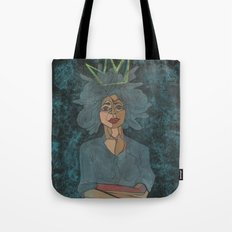 Sometimes a Woman is King Tote Bag