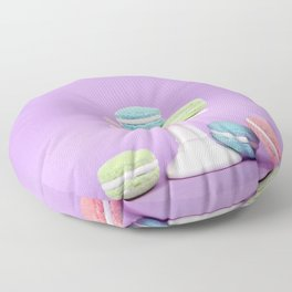 Macaron Sweet Treats Floor Pillow