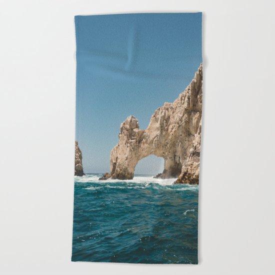 Arch of Cabo San Lucas IV Beach Towel